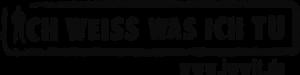 Logo  von ich weiß was ich tu
